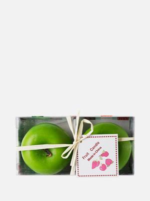 과일 향초 2개 그린애플 - K307