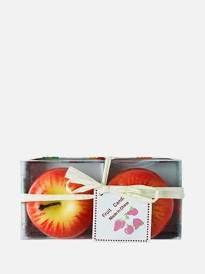 과일 향초 2개 레드애플 - K308