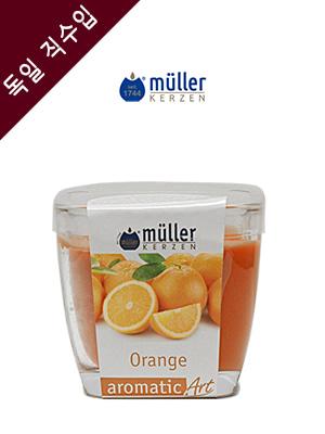 독일 뮐러 아로마 글라스(유리컵) 향초 오렌지 1개
