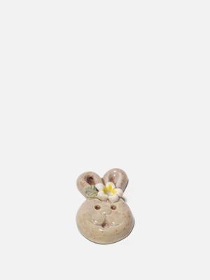인센스 홀더 세라믹 도기 향받침 - 토끼